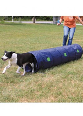Trixie Dog Activity Agility Sack Tunnel - Blue