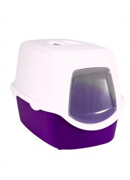 Trixie Vico Easy Clean Cat Litter Tray Purple