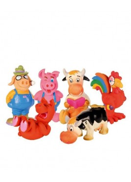 Trixie Animal Farm Figures Latex Toy With Sound Model 3569