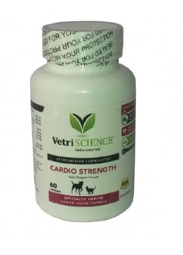 Msd-Cardio Strength Supplement-60 Caps