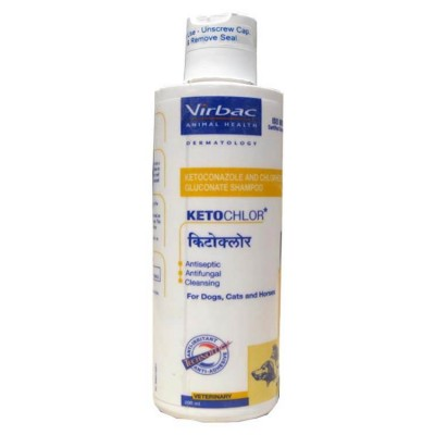 Virbac Ketochlor Dog and Cat Shampoo 200ml