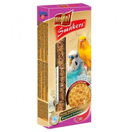 Vitapol Honey Smarkers For Budgie 90 Gm