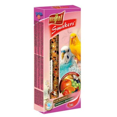 Vitapol Bird Treats Fruit Smakers For Budgerigar 90 Gm