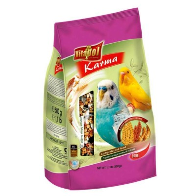 Vitapol Budgerigar Bird Food - 500 Gm