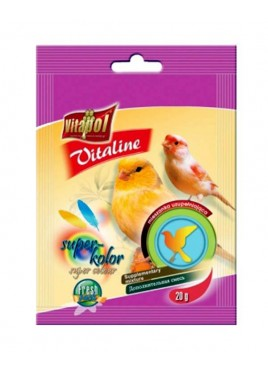 Vitapol Vitaline Super Colour Bird Food - 20Gm