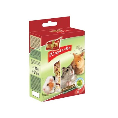 Vitapol XL Mineral Block For Rodent Apple Flavour (190gm)