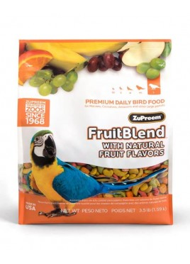 Zupreem Fruit Blend Food For Bird 1.58 Kg