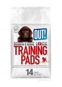 Out Pet Care Moisture Lock Training Pad 14 pad