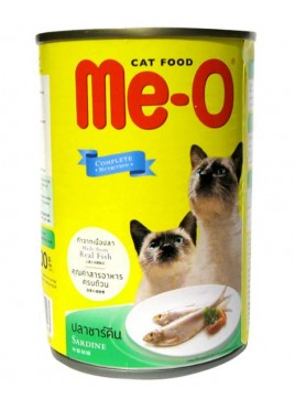 Me-o Canned Sardine in Jelly Cats Food 400g