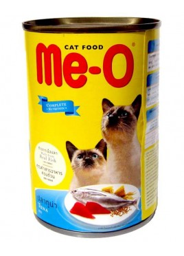 Me-o Canned Tuna in Jelly Cats Food 400gm
